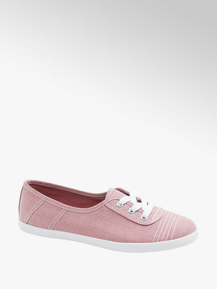 Graceland Ružové plátenné tenisky Graceland