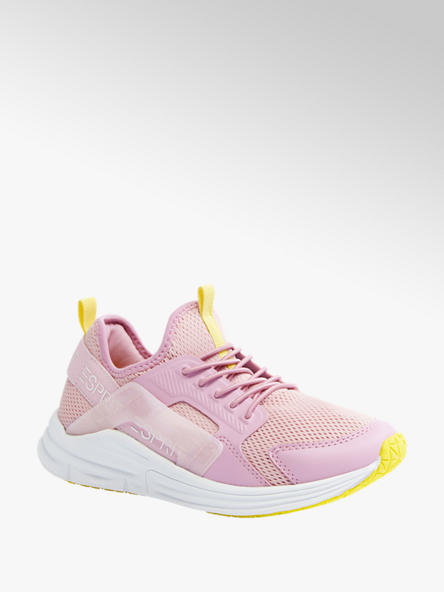 Esprit Ružové slip-on tenisky Esprit