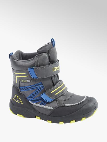 Kappa Sivá členková obuv na suchý zips s TEX membránou Kappa