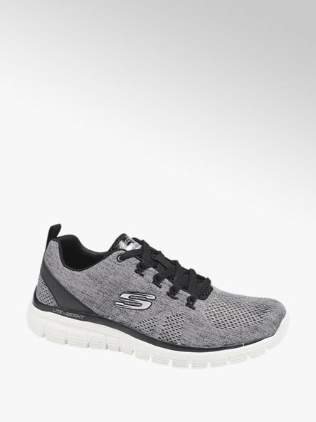 Skechers Sivo-čierne tenisky Skechers