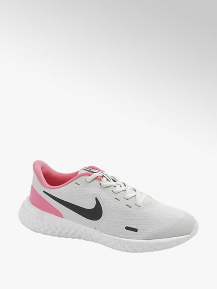 NIKE Sivo-ružové tenisky Nike Revolution 5