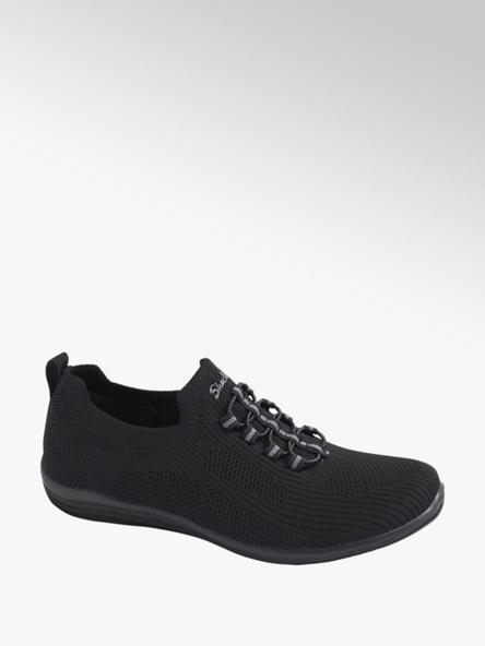 Skechers Sock Sneaker in Schwarz