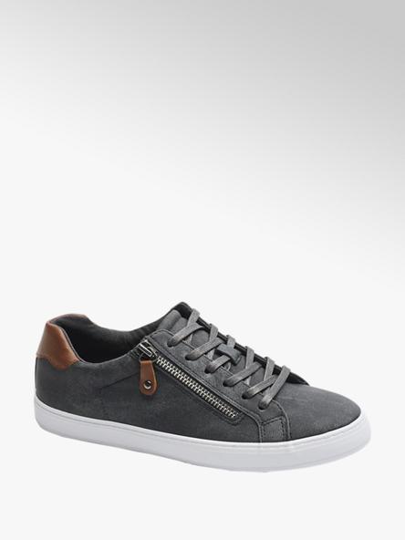 Graceland Sneaker in similpelle grigia