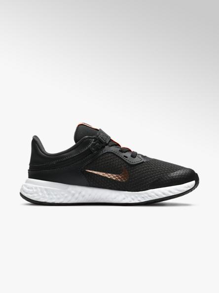 NIKE Tmavě šedé tenisky Nike Revolution Flyease