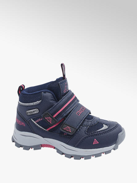Kappa Tmavě modrá kotníková obuv na suchý zip Kappa s TEX membránou