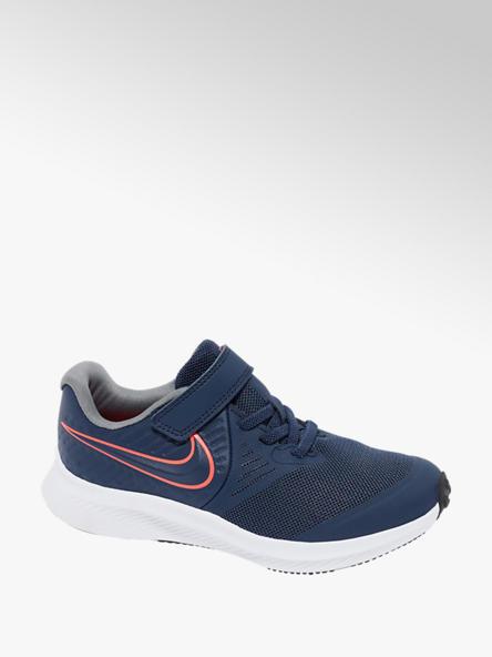 NIKE Tmavě modré tenisky na suchý zip Nike STAR RUNNER 2