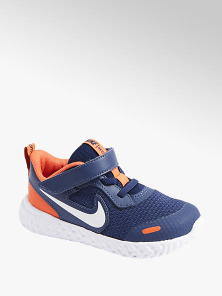 NIKE Tmavomodré detské tenisky Nike Revolution 5 (Tdv)