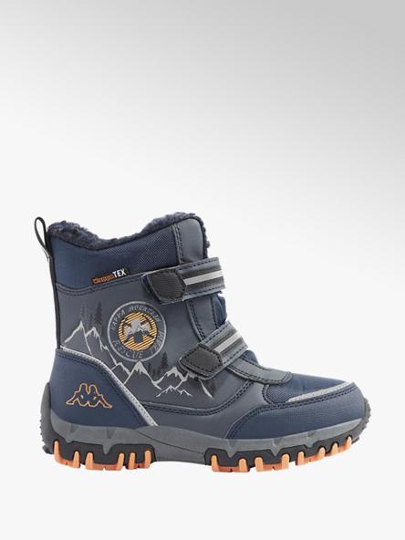 Kappa Tmavomodrá členková obuv na suchý zips s TEX membránou Kappa