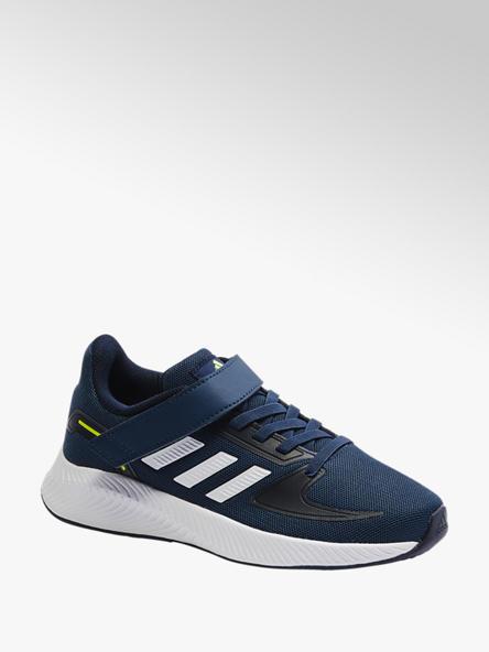 adidas Tmavomodré tenisky na suchý zips Adidas Runfalcon 2.0