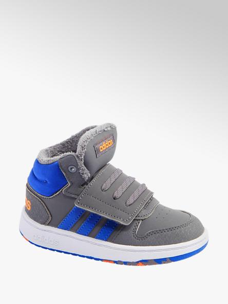 adidas Vaikiški sportinio stiliaus aulinukai su pašiltinimu Adidas Hoops Mid 2.0