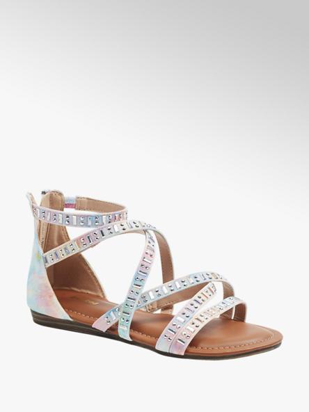 Graceland Viacfarebné sandále Graceland