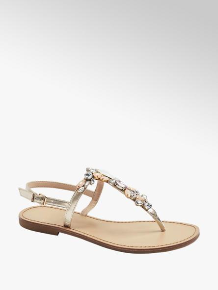 Graceland Zlaté sandále Graceland