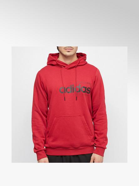 adidas Hoodie in Rot