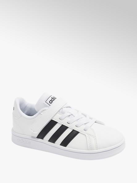 adidas Klettschuhe GRAND COURT C in Weiß