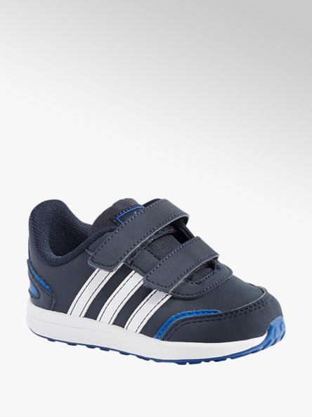 adidas Klettschuhe RETRO RUN BASE in Dunkelblau