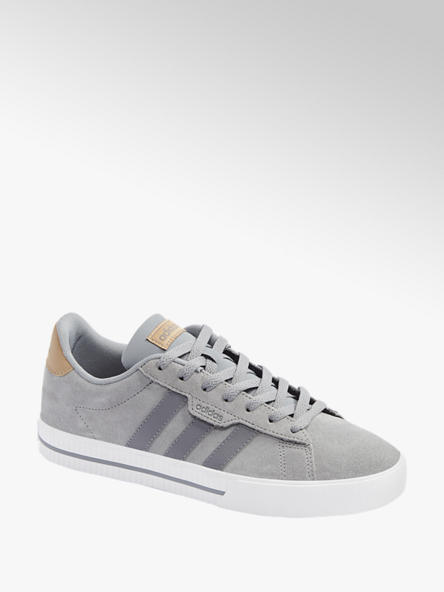 adidas Leder Sneaker DAILY 3.0 in Grau