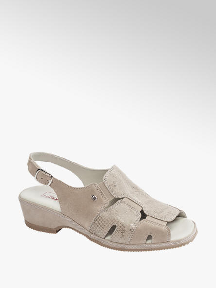 Medicus beżowe sandały damskie Medicus, tęgość G