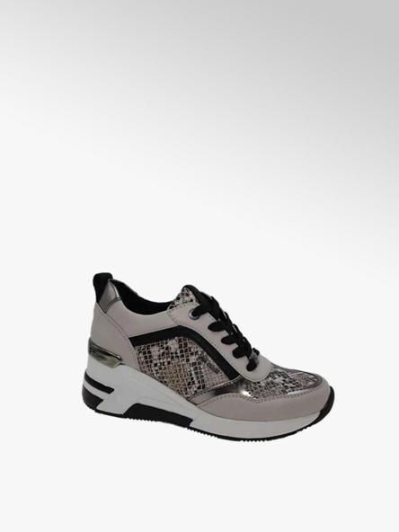 Tom Tailor beżowe sneakersy damskie Tom Tailor