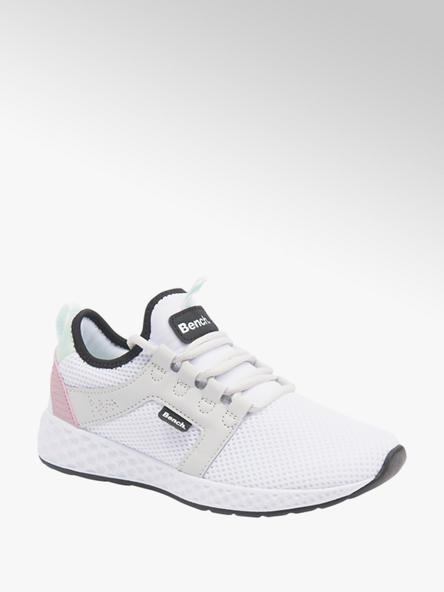 Bench białe lekkie sneakersy damskie Bench