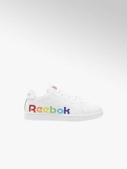 Reebok białe sneakersy dziecięce Reebok Complete z kolorowym logo