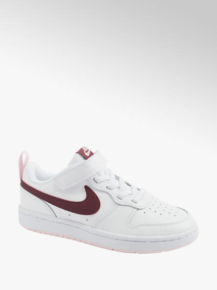 NIKE białe sneakersy dziewczęce NIKE COURT BOROUGH LOW