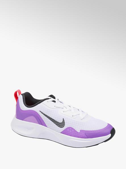 NIKE biało-fioletowe sneakersy młodzieżowe Nike Wear All Day