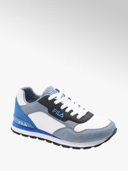 Fila biało-niebieskie sneakersy młodzieżowe Fila