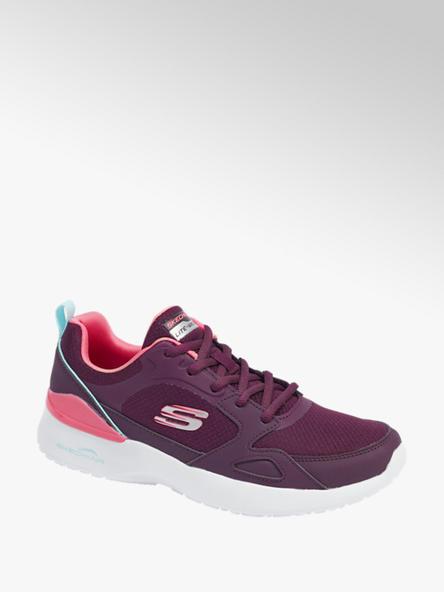Skechers bordowe sneakersy damskie Skechers AIR DYNAMIGHT
