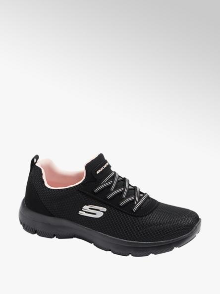 Skechers czarne sneakersy damskie Skechers