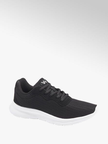 Vty czarne sneakersy damskie Vty na lekkiej podeszwie