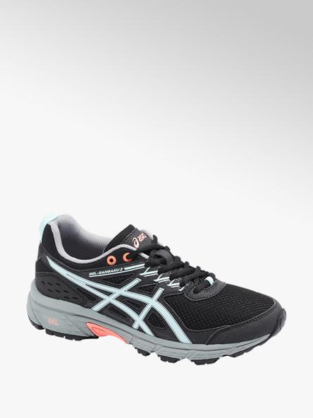 Asics czarne sneakersy damskie do biegania Asics GEL-SANGAKU 2