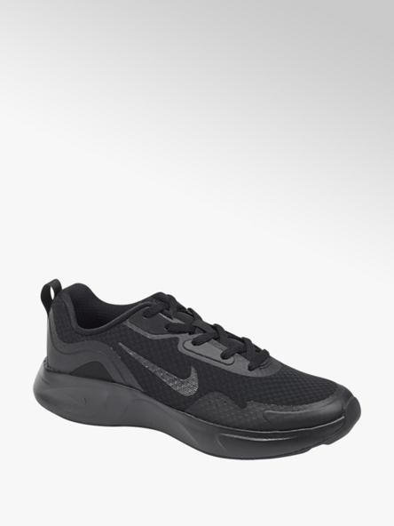 NIKE czarne sneakersy młodzieżowe NIKE WEARALLDAY