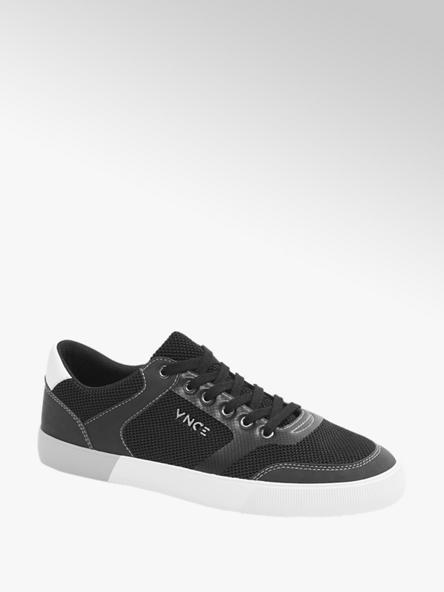 Venice czarne sneakersy męskie Venice na białej podeszwie