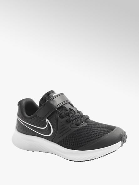 NIKE czarno-białe sneakersy dziecięce Nike Star Runner 2