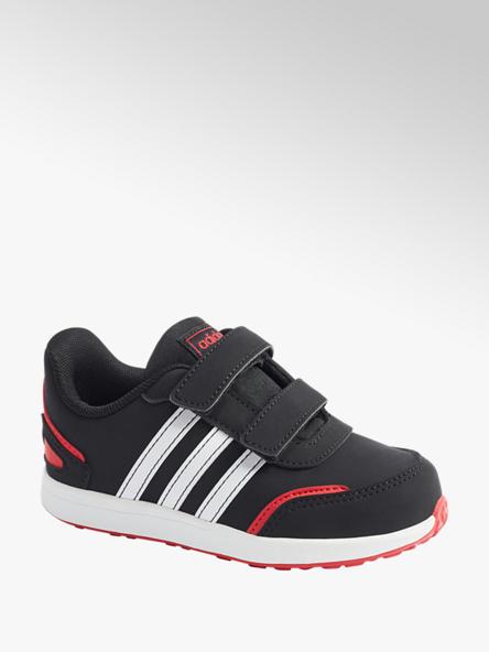 adidas czarno-biało-czerwone sneakersy dziecięce adidas VS SWITCH 3 I