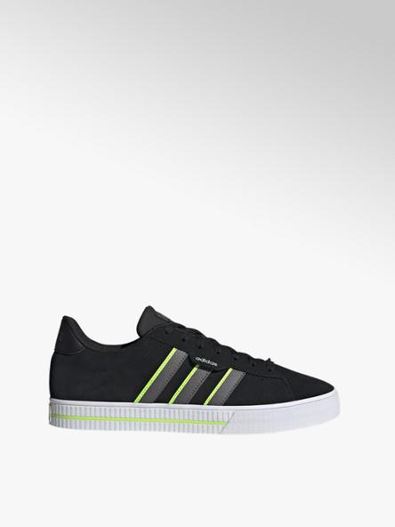 adidas czarno-zielone sneakersy męskie adidas Daily 3.0