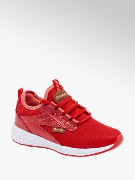 Bench czerwone sneakersy dziewczęce Bench