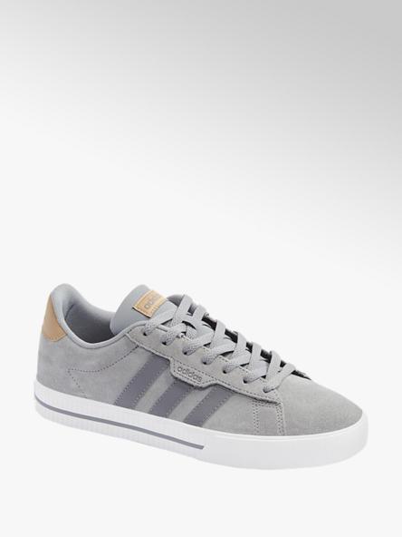 adidas Šedé kožené tenisky Adidas Daily 3.0