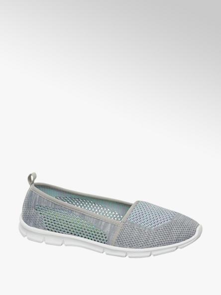 Graceland Šedá slip-on obuv Graceland