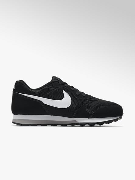 NIKE Černé kožené tenisky Nike MD Runner