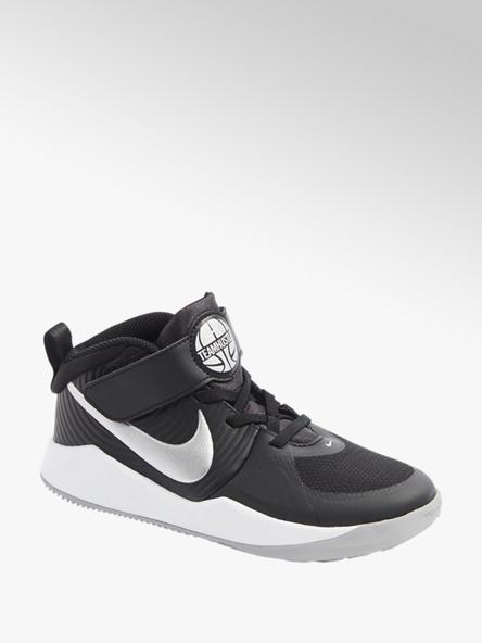 NIKE Černé kotníkové tenisky Nike Team Hustle Quick