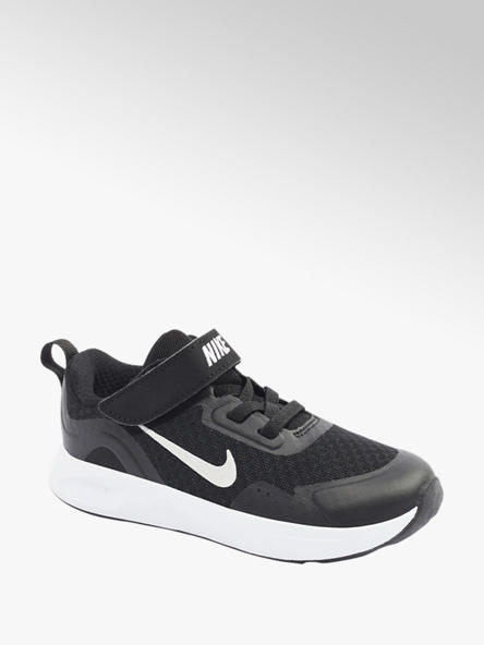 NIKE Černé tenisky na suchý zip Nike Wear All Day