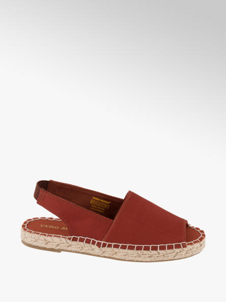 Vero Moda Červené espadrilky Vero Moda