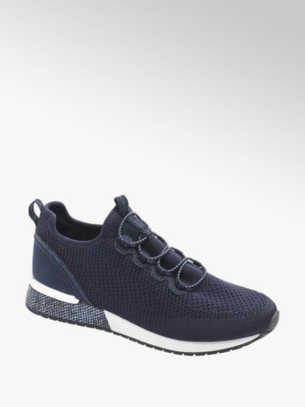 Granatowe Sneakersy Damskie Venice Deichmann Com