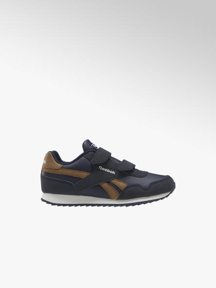 Reebok granatowo-brązowe sneakersy dziecięce Reebok ROYAL CLJOG 3.0