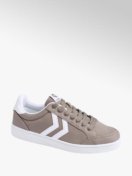 hummel Leinen Sneaker in Grau