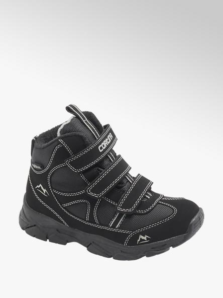 Cortina Čierna členková obuv na suchý zips Cortina s TEX membránou