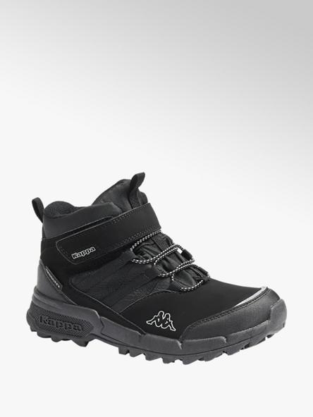 Kappa Čierna členková obuv na suchý zips Kappa