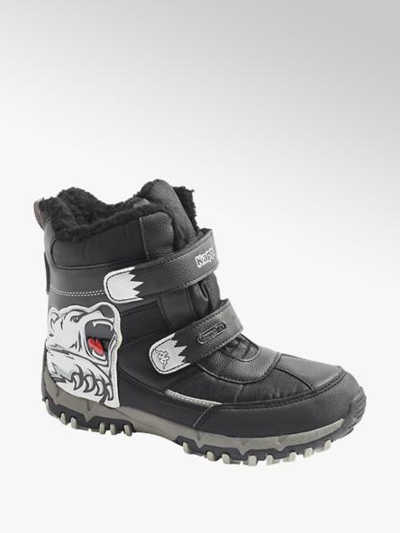 Kappa Čierna členková obuv na suchý zips s TEX membránou Kappa