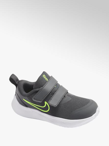 NIKE Čierne detské tenisky na suchý zips Nike Star Runner 3
